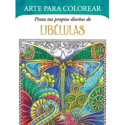 Arte para colorear Libelulas