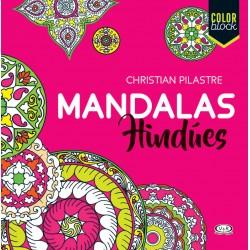 Mandalas Hindúes Libro para colorear