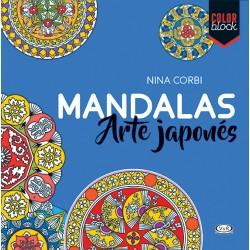 Mandalas Arte Japonés Libro para colorear