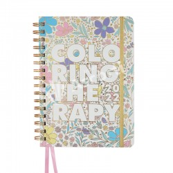 Agenda Mooving Coloring Therapy 15x21cm