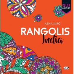 Rangolis India Libro para colorear