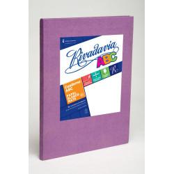 Cuaderno Rivadavia ABC Lila Rayado 50 hojas