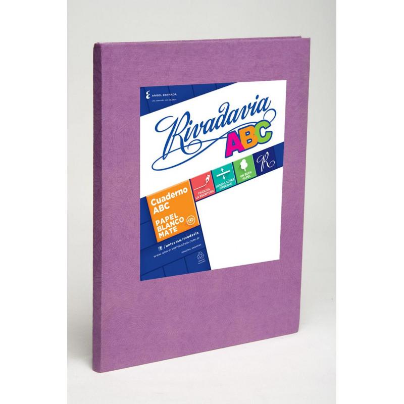 Cuaderno Rivadavia 48 hojas Tapa Flexible Rayado