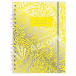 Agenda Cangini Filippi Espiralada Yellow Nº6 Diaria