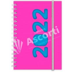 Agenda Cangini Filippi Neon Rosa Nº6 Diaria