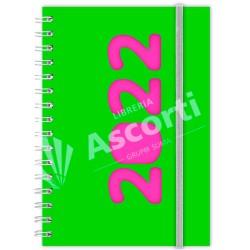 Agenda Cangini Filippi Neon Verde Nº6 Diaria