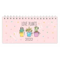Agenda Cangini Filippi Pocket Love Plants