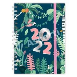 Agenda Cangini Filippi Selva Pink Nº7 Semanal Espiralada