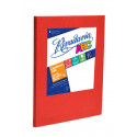 Cuaderno Rivadavia ABC 50 hojas. Lunares Rojo