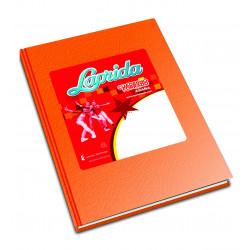 Cuaderno Laprida Araña 98 Hojas Naranja 16x21cm