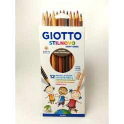 Lapices Giotto Stillnovo x12 Skin Tones