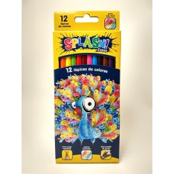 Lapices de colores Splash x12