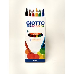 Marcadores Giotto Turbo Color x6