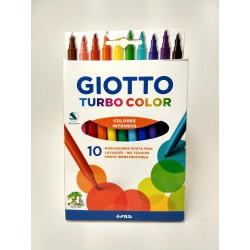 Marcadores Giotto Turbo Color x10