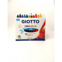 Crayones de cera Giotto Maxi x12