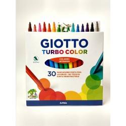 Marcadores Giotto Turbo Color x30