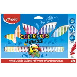Marcadores Maped x24 Color Peps Jungle