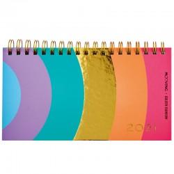 Agenda Mooving Pocket Golden Rainbow