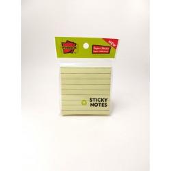 Notas Autoadhesivas Winbook 76x76mm Rayada