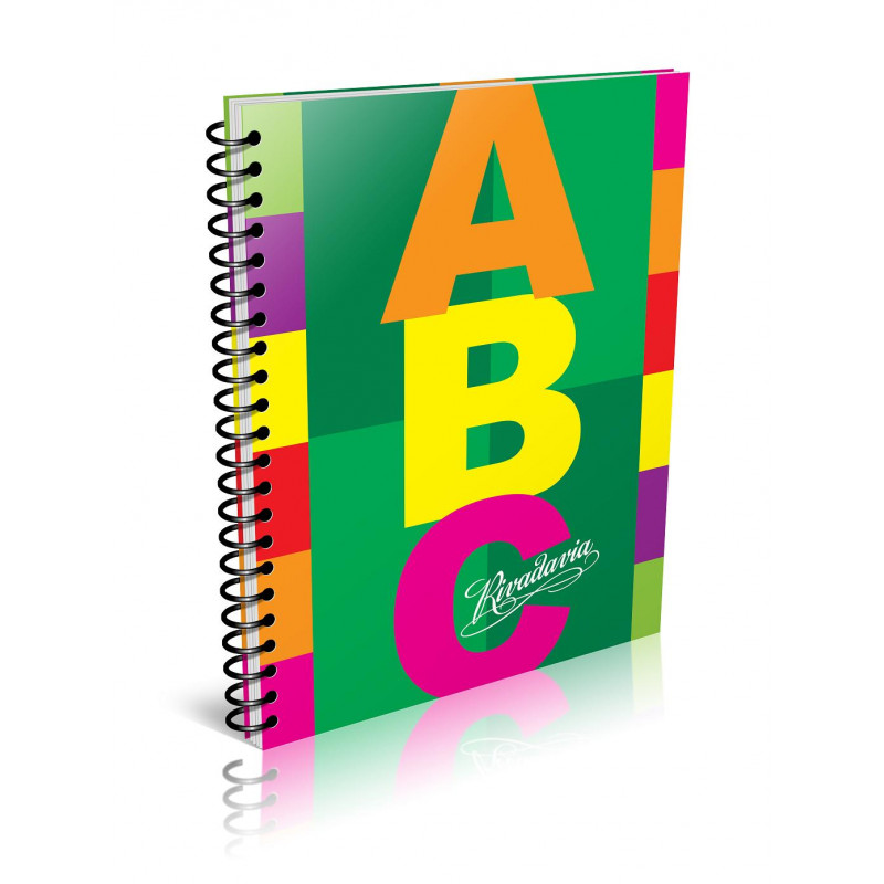 Cuaderno Rivadavia ABC Espiralado 60 hojas cuadriculado