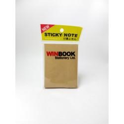 Notas Autoadhesivas Winbook 76x101mm Eco