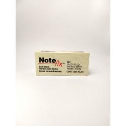 Notas Autoadhesivas Note Fix 35x48 Amarillo