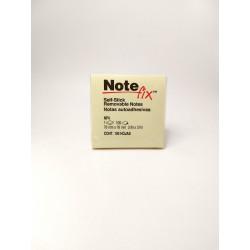 Notas Autoadhesivas Note Fix 76x76 Amarilla