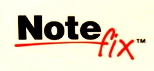 Note Fix